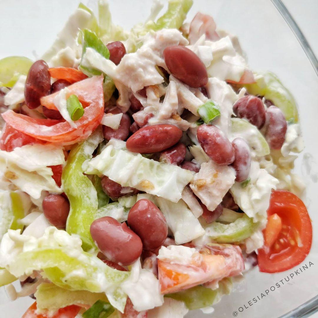 Очень вкусны салатик на 67 калорий