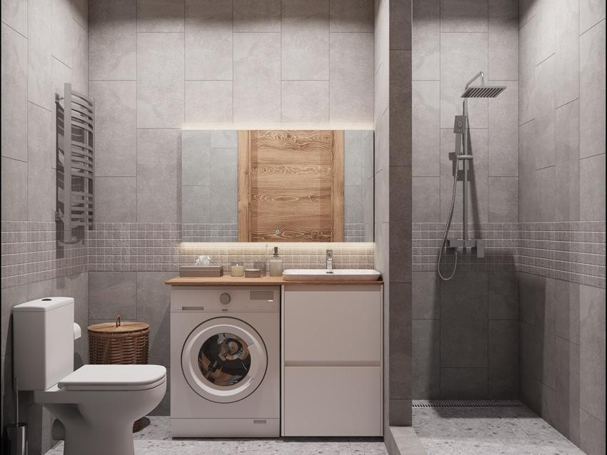 Дизайн-проект маленькой квартиры-студии 22 кв.
