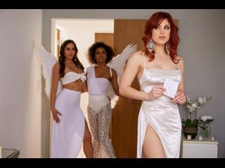 Demi Sutra, Desiree Dulce, Molly Stewart - Sky Bound: Part 4 , Lesbians, Cunnilingus, Big Tits