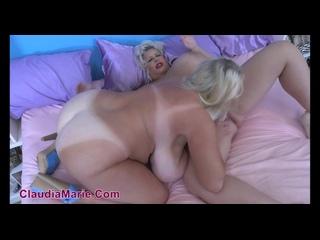 Kayla Kleevage, Claudia Marie - Big Tit HomeWrecker () [HD 720, Big Fake Tits, Blowjob, Lesbian, Mature, MILF, Sex]