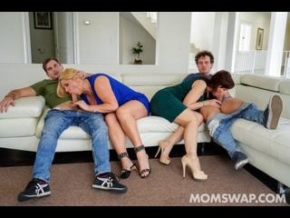 MOMSWAP: Karen Fisher & Syren De Mer - Swapping Needy Boys