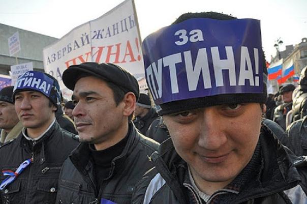 Путин требует от мигрантов знания русского языкаРо...