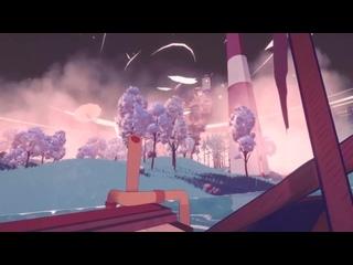 Попытайтесь вернуться в реальный мир из картины в игре Summertime Madness!
