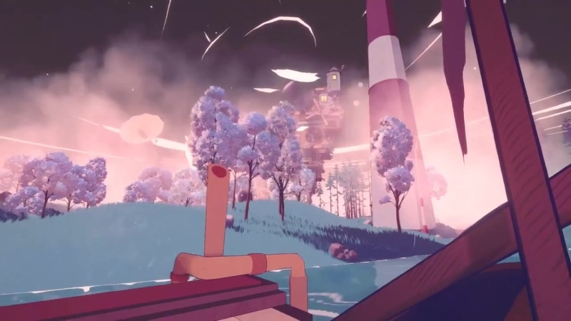 Попытайтесь вернуться в реальный мир из картины в игре Summertime Madness