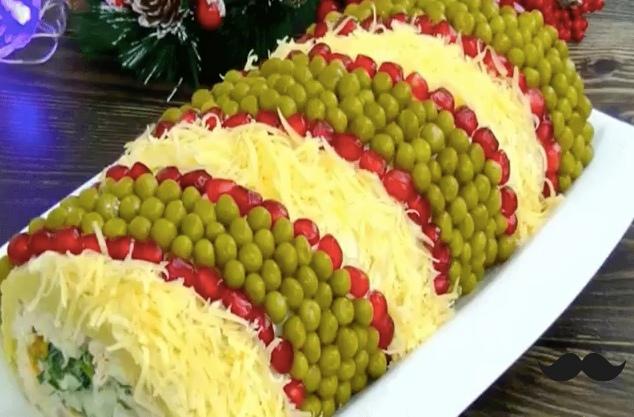 """Изумительно красивый и вкусный салат «Король стола!"""""""