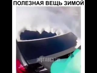 Воздуходуйка для быстрой чистки авто от снега 💨❄