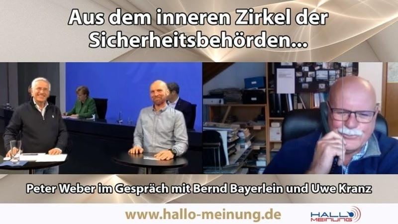 Peter Weber im Gespräch mit Bernd Bayerlein Polizist vom Dienst suspendiert und Uwe Kranz LKA Präsident Thüringen a D