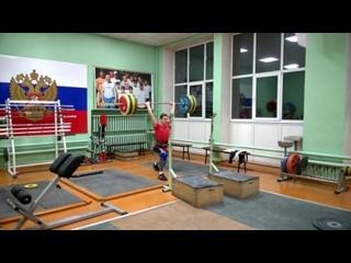Дмитрий Масленков-01 г/р-толчок с гр. 125 кг.