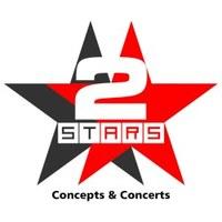 Логотип 2 STARS BRN. CONCEPTS & CONCERTS