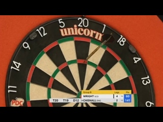 Peter Wright vs Dave Chisnall (Champions League of Darts 2017 - Group B)