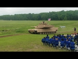 62-т M1A2 Abrams, APG 2017.