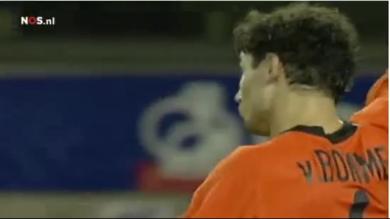 Марк ван Боммел (Голландия) - пушечное ядро в ворота англичан
