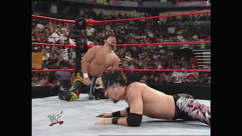 WWF Raw Is War 06.08.2001 - Tajiri vs X-Pac