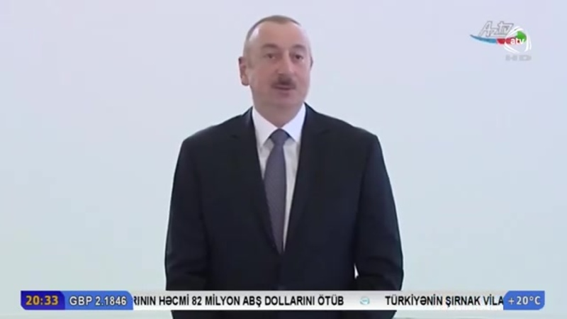 Azərbaycan Respublikasının Prezidenti İlham Əliyev mayın 16-da Pirallahı Sənaye Parkında Diamed şpris istehsalı zavodunun açıl