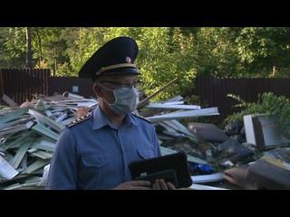 Операция «Засада» прошла на территории поселка «Родники»