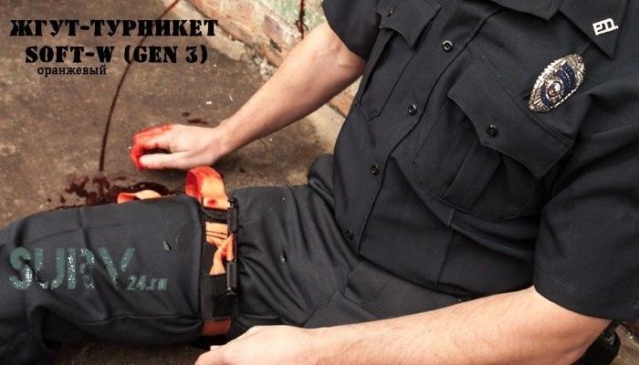 Помощь при кровотечении и турникеты SOF, изображение №28