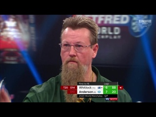 Simon Whitlock vs Gary Anderson (PDC World Matchplay 2020 / Quarter Final)