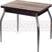 Кухонный стол из ЛДСП Дрезден М-2 ДТ/ВН (Дуб темный) 01