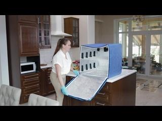 Дезенфицирующий бокс SAFEE для обработки продуктов от бактерий и вирусов