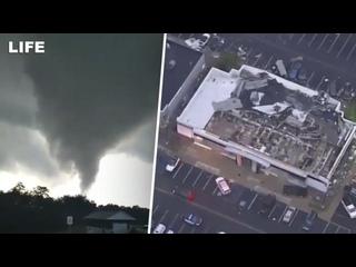 Разрушительный торнадо в США