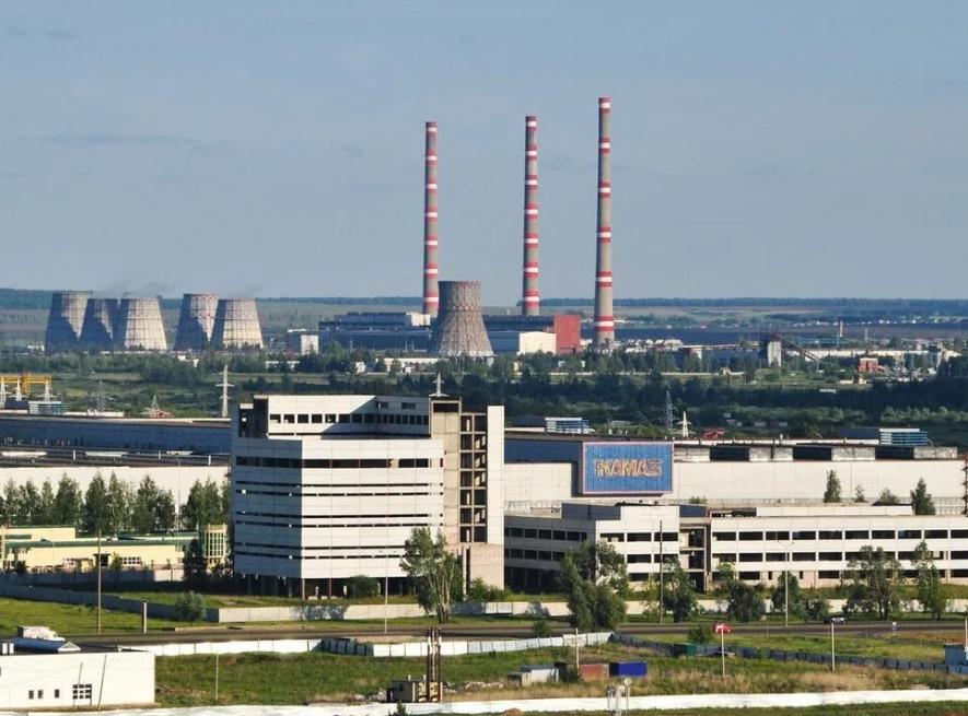 «Красный котельщик» поставил конвективный пароперегреватель в адрес Набережночелнинской ТЭЦ