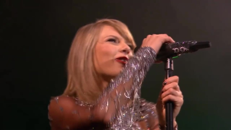 Taylor Swift Shake It Off Live at BBC Radio 1's Big Weekend