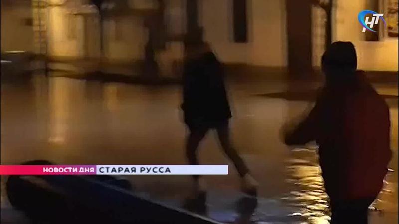 53 новгородца обратились в травмпункт после падения и ушибов из-за гололеда