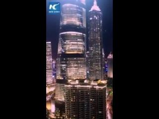 Самое высокое здание в Китае — Шанхайская башня