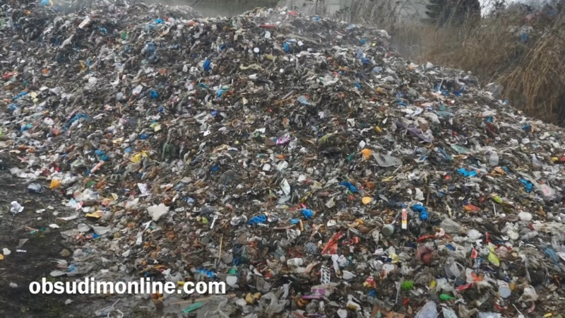 Вблизи Воздвиженского кто-то выбросил отходы
