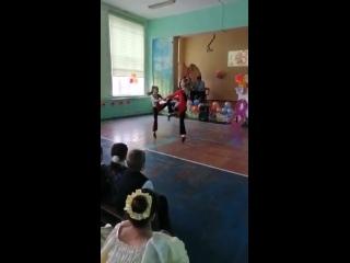 Выступление Лариной Киры и Степанниковой Маргариты
