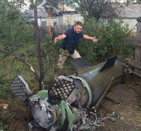 Неразорвавшаяся «Точка-У» в жилых кварталах ДНР