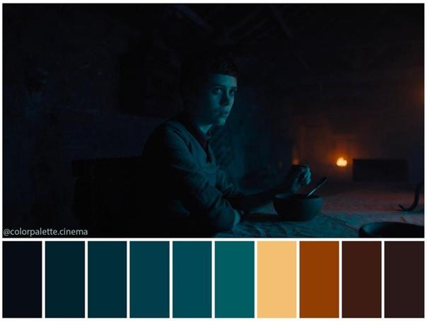 Цветовая гамма хоррора «Гретель и Гензель» с Софией Лиллис