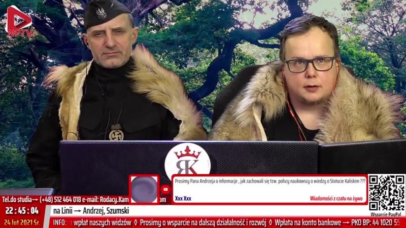Z Nienacka o 10 Śr 24 02 2021 Marcin Osadowski Wojciech Olszański