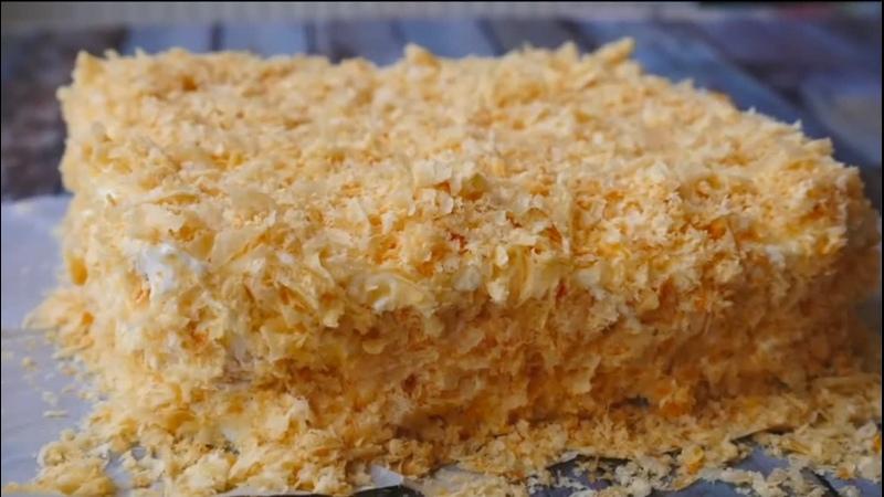 Ленивый торт НАПОЛЕОН приготовит каждый 720p