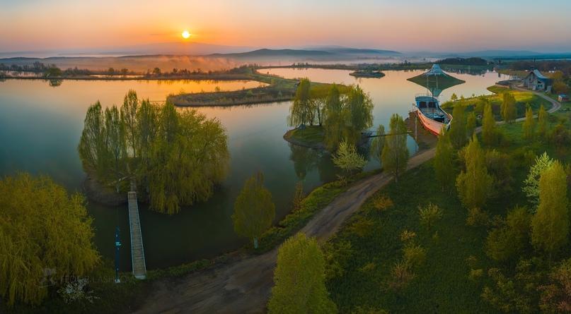 Живописные пруды около Сенгилеевского водохранилища  ???? Фёдор Лашков
