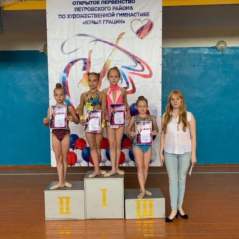 В детско-юношеской спортивной школе Петровска состоялось первенство по художественной гимнастике