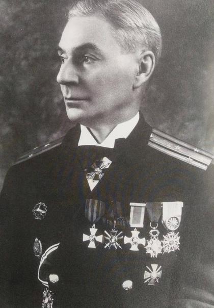 Лев Константинович Феншоу – командир подлодки «Краб», осуществивший первую в мире постановку мин подводной лодкой в боевых условиях.