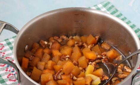 Варенье из тыквы с грецкими орехами на зиму
