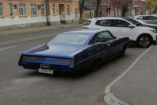 В Самаре был обнаружен редкий американский автомоб...