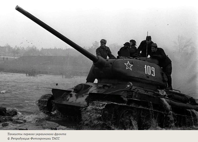 """76 лет назад, 8 мая 1945 года, части Красной Армии шли на помощь восставшей Праге — в ночь на эту дату советские танкисты перехватили отступавший штаб командующего группой армий """"Центр"""""""