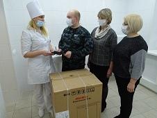 Подарок от депутатов – морозильник для вакцины
