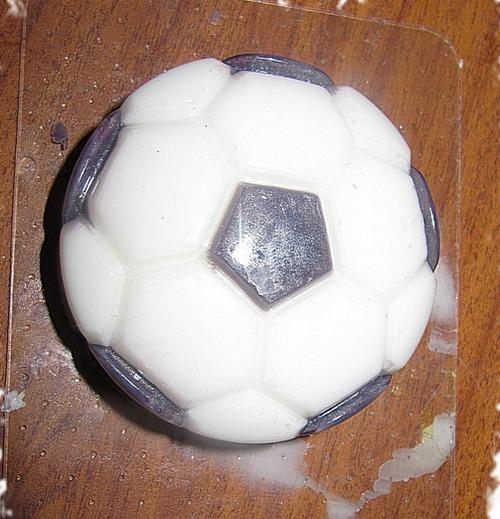 Как сделать мыло в виде мяча своими руками МК пошагово,