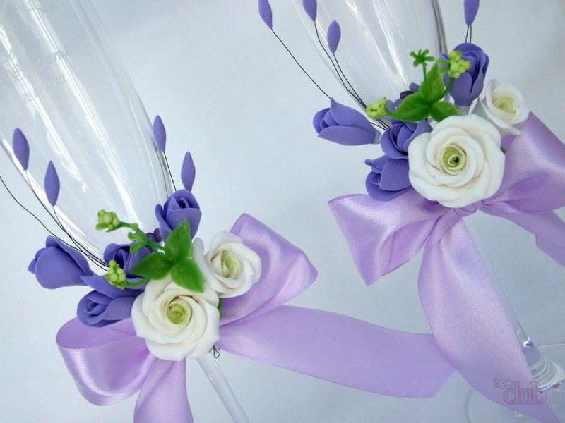 HAVeKVuBod4 - Красивые свадебные фужеры