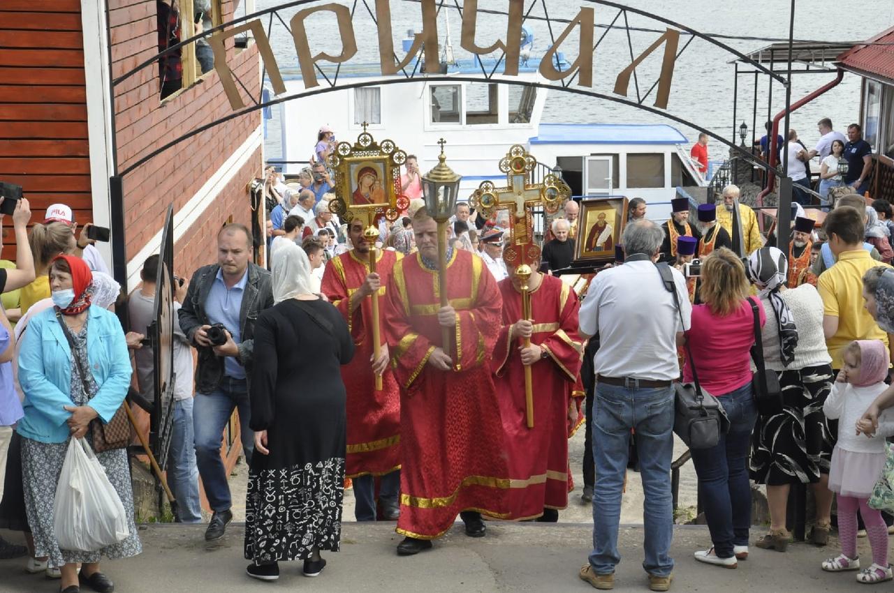 5 июня в городе Кимры состоялась встреча святынь XXII Большого Волжского Крестного хода | Фото