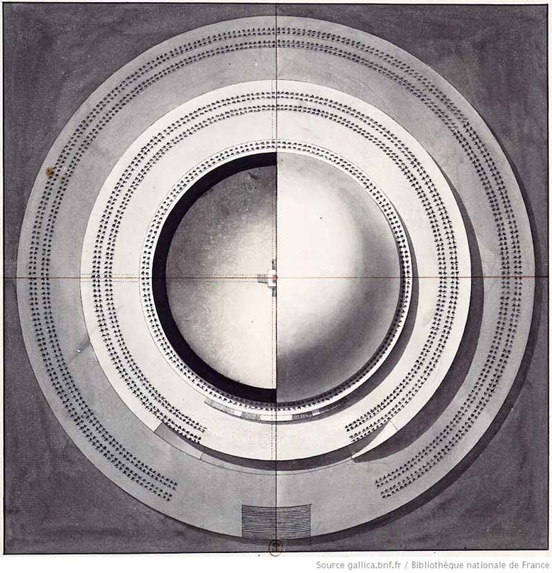 Загадка архитекторов Этьена Булле и Клода Леду идеи которому давали «сущности выходящие из тени», изображение №11