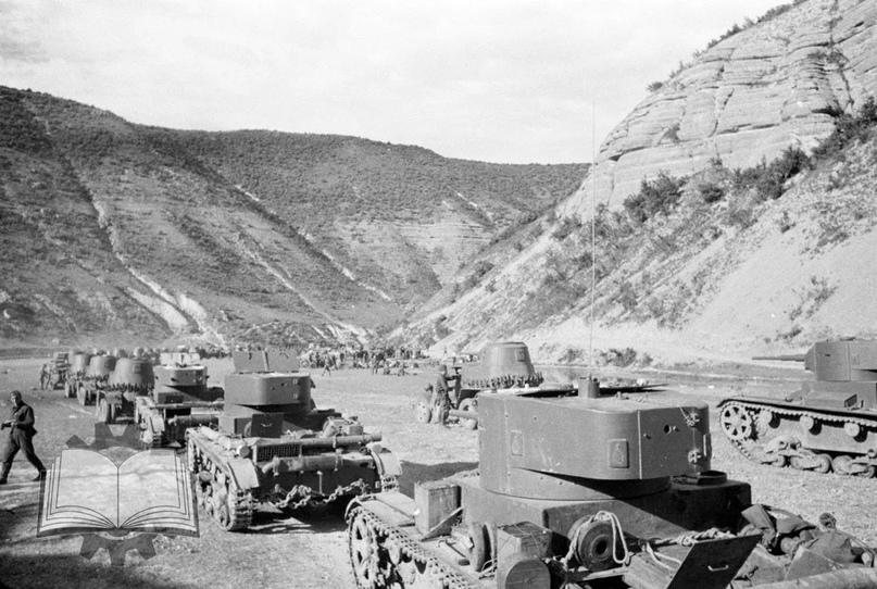 Вхождение Красной Армии в Бессарабию, 1940 год.
