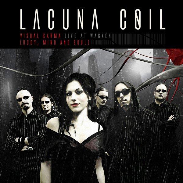Lacuna Coil album Visual Karma (Body, Mind and Soul)