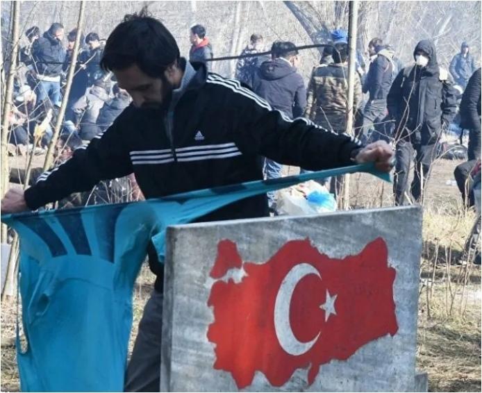 Эрдоган решил прирезать новые территории за счет восстания на турецкой границе