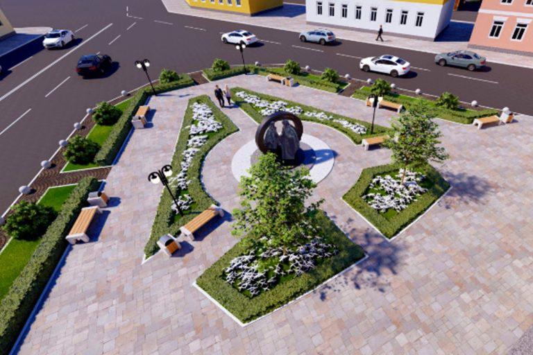 Благоустройство сквера у нового тверского Дворца бракосочетаний обойдется в 9,5 миллионов рублей