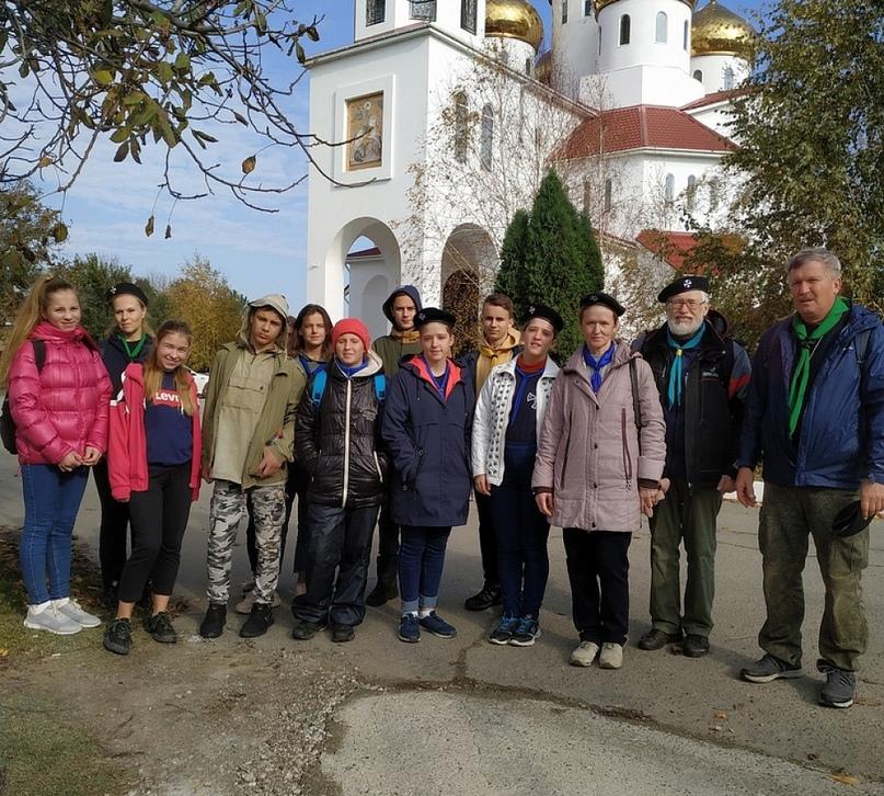 На осенних каникулах в Северо-Кавказском отделе состоялся семинар для актива по разведческой практике